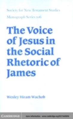 Voice of Jesus in the Social Rhetoric of James
