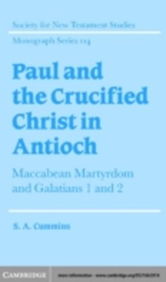 (ebook) Paul and the Crucified Christ in Antioch