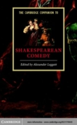 Cambridge Companion to Shakespearean Comedy