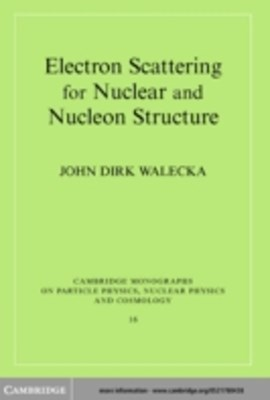 (ebook) Electron Scattering for Nuclear and Nucleon Structure