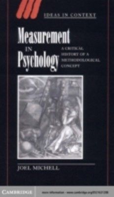 (ebook) Measurement in Psychology