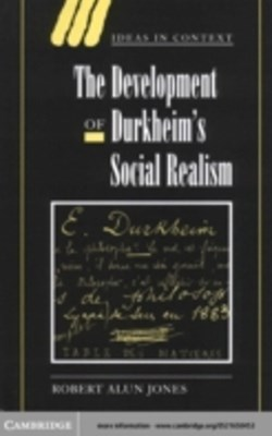 (ebook) Development of Durkheim's Social Realism