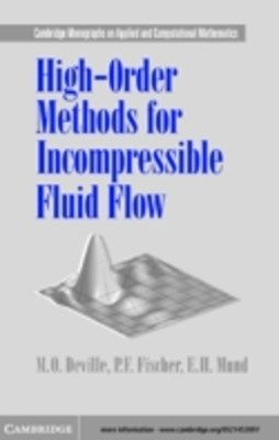 High-Order Methods for Incompressible Fluid Flow