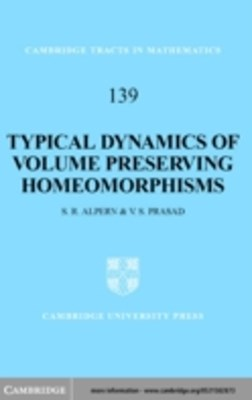(ebook) Typical Dynamics of Volume Preserving Homeomorphisms