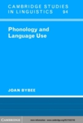 (ebook) Phonology and Language Use
