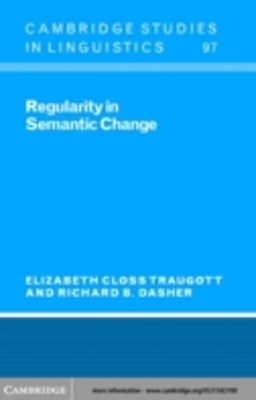 (ebook) Regularity in Semantic Change