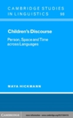 (ebook) Children's Discourse
