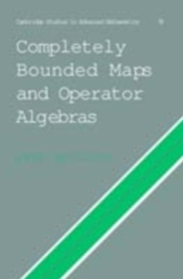 (ebook) Completely Bounded Maps and Operator Algebras