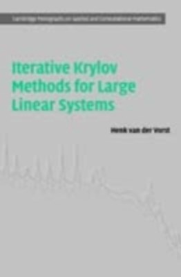(ebook) Iterative Krylov Methods for Large Linear Systems
