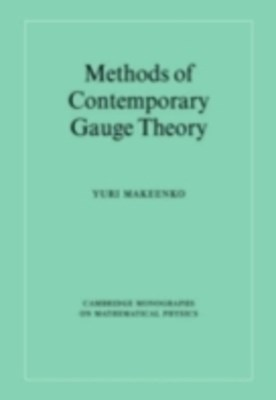 (ebook) Methods of Contemporary Gauge Theory