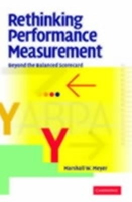 Rethinking Performance Measurement
