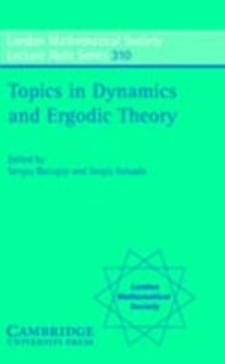 Topics in Dynamics and Ergodic Theory