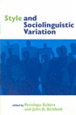 (ebook) Style and Sociolinguistic Variation