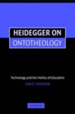 Heidegger on Ontotheology