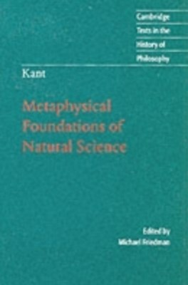 (ebook) Kant: Metaphysical Foundations of Natural Science