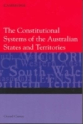 Constitutional Systems of the Australian States and Territories