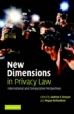 New Dimensions in Privacy Law