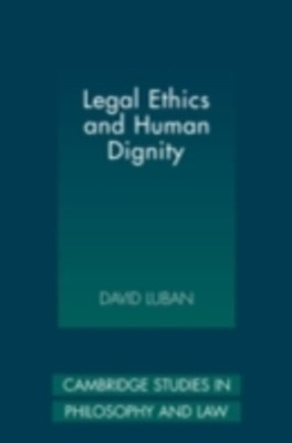 (ebook) Legal Ethics and Human Dignity