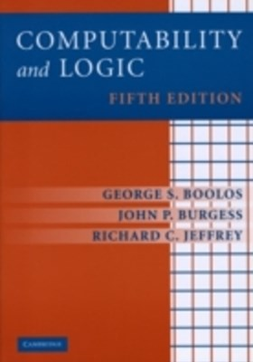 (ebook) Computability and Logic