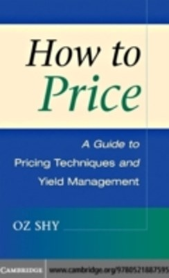 (ebook) How to Price