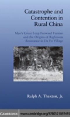 (ebook) Catastrophe and Contention in Rural China