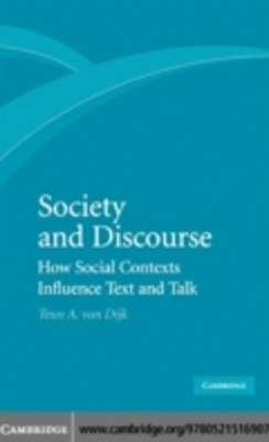 (ebook) Society and Discourse