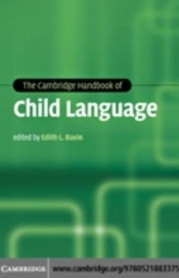 (ebook) Cambridge Handbook of Child Language