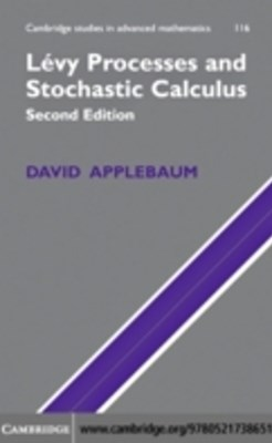(ebook) Levy Processes and Stochastic Calculus