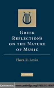 (ebook) Greek Reflections on the Nature of Music - Entertainment Music General
