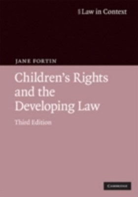 (ebook) Children's Rights and the Developing Law