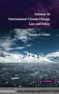 (ebook) Fairness in International Climate Change Law and Policy