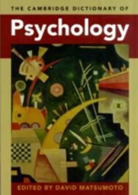 Cambridge Dictionary of Psychology
