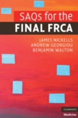 (ebook) SAQs for the Final FRCA