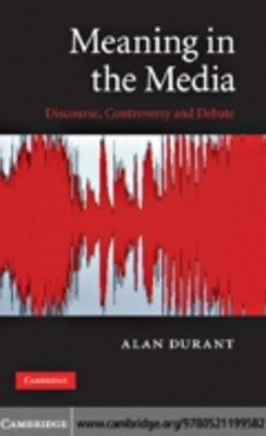 (ebook) Meaning in the Media