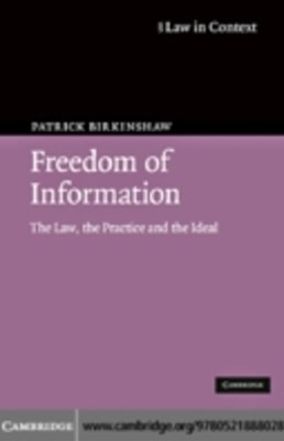 (ebook) Freedom of Information
