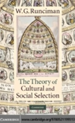 Theory of Cultural and Social Selection