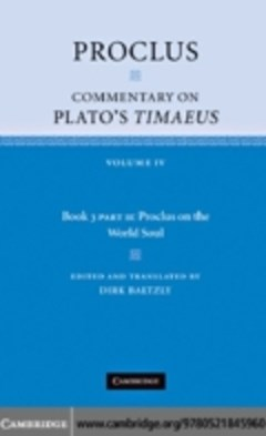 (ebook) Proclus: Commentary on Plato
