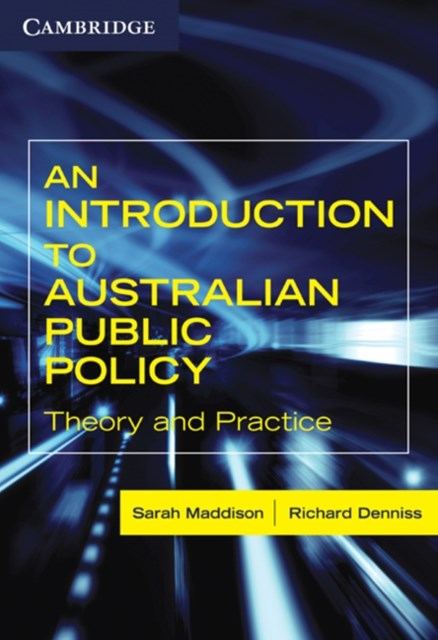 Introduction to Australian Public Policy