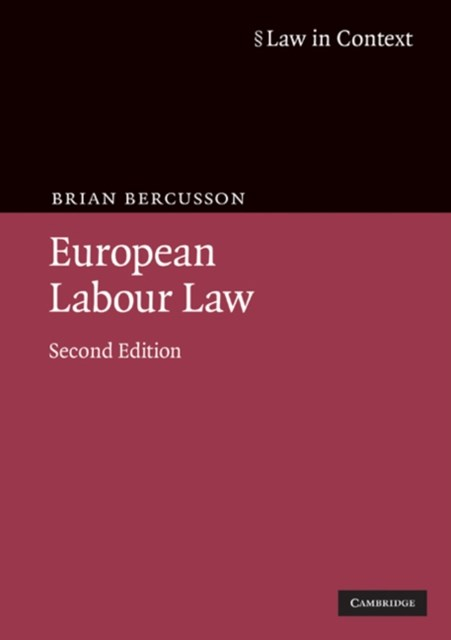 (ebook) European Labour Law