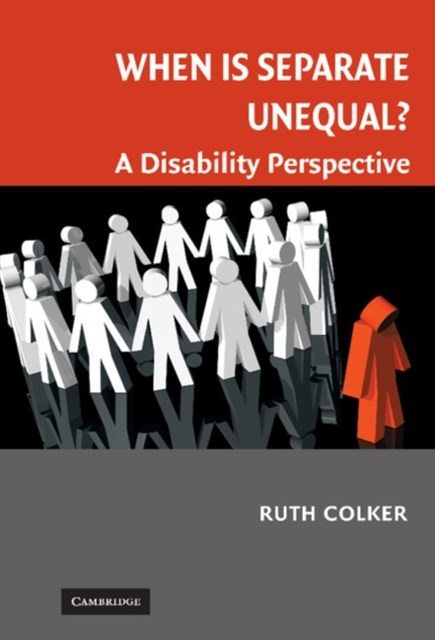 (ebook) When is Separate Unequal?