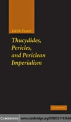 (ebook) Thucydides, Pericles, and Periclean Imperialism