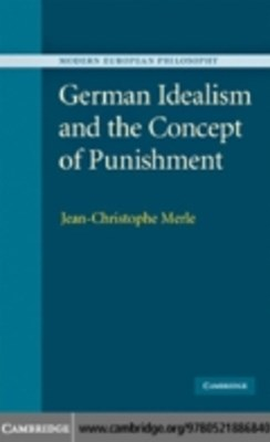 (ebook) German Idealism and the Concept of Punishment
