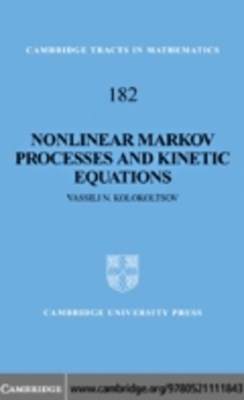 (ebook) Nonlinear Markov Processes and Kinetic Equations