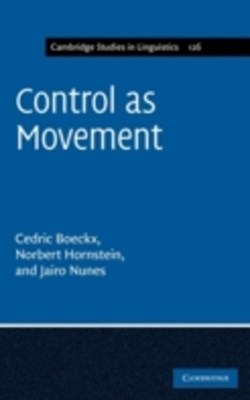 (ebook) Control as Movement
