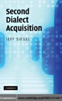 (ebook) Second Dialect Acquisition