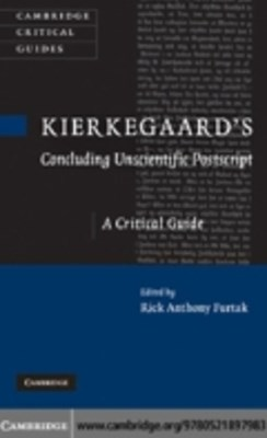 (ebook) Kierkegaard's 'Concluding Unscientific Postscript'