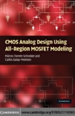 (ebook) CMOS Analog Design Using All-Region MOSFET Modeling