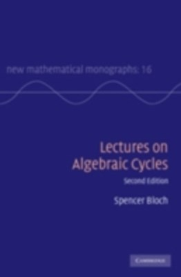 (ebook) Lectures on Algebraic Cycles