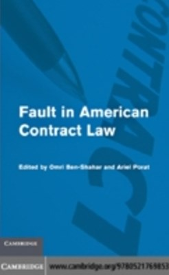 (ebook) Fault in American Contract Law