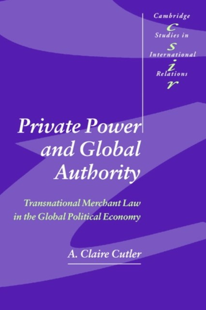 (ebook) Private Power and Global Authority